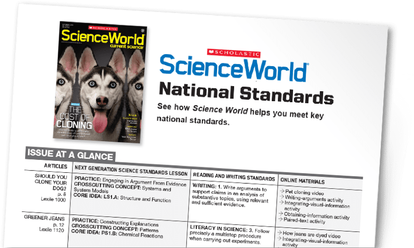 scholastic science world the current science magazine - 824×495