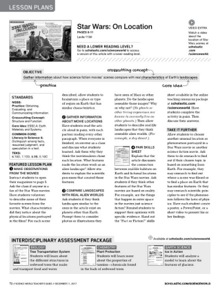 Scholastic science world the current science magazine for grades lesson planslesson plans experimentsexperiments fandeluxe Image collections