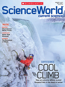 scholastic science world the current science magazine - 265×355