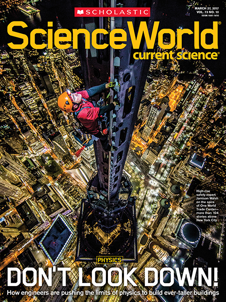 scholastic science world the current science magazine - 465×623