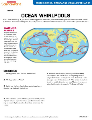 An Ocean Of Plastic Chemistry Article For Students Scholastic