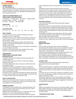 Scholastic Science World Worksheets Best Free