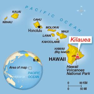 Hawaii Volcano Erupts